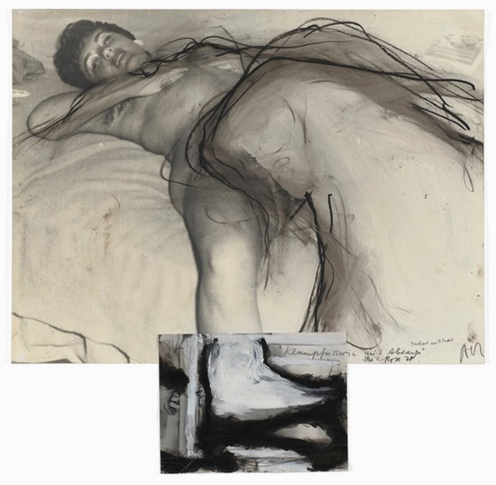 29 Dieter Roth, Arnulf Rainer Klumpfuesserin mit Absauger - Clubfoot with Suction, 1978