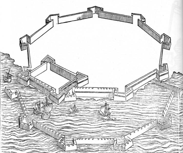 59 Pietro Cataneo, I Quattro Primi Libris di Architettura, 1654