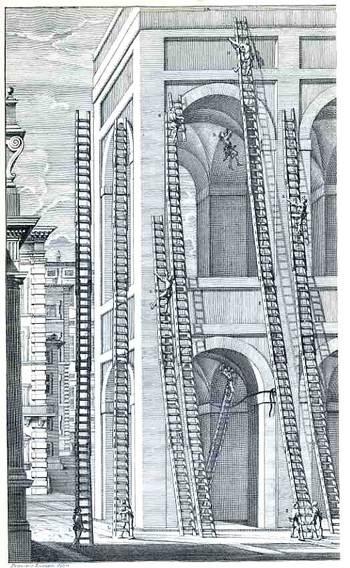 69 Castelli, e ponti di maestro Niccola Zabaglia con alcune ingegnose practice, e con la descriziojne del trasporto dell'obelsico Vaticano, e di altri del cav. Domenico Fontana 1743